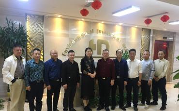 热烈欢迎南宁市民营企业家联合会领导莅临我司参观指导工作